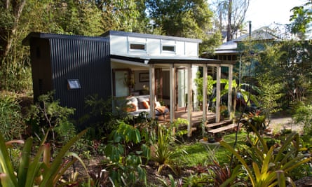 A Tiny Homes house can be built in three days.