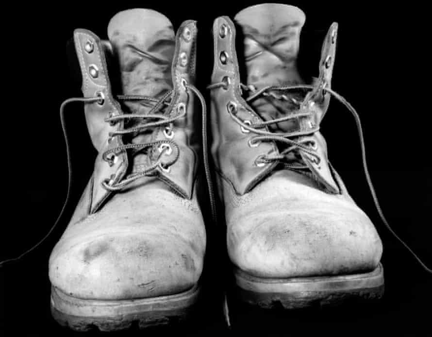 Tony Hudson's boots
