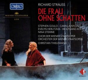 Strauss: Die Frau ohne Schatten album art work