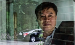 Kim Jong-yong, a driver and labour organiser, says he has been banned by a taxi app for advocating for workers rights.