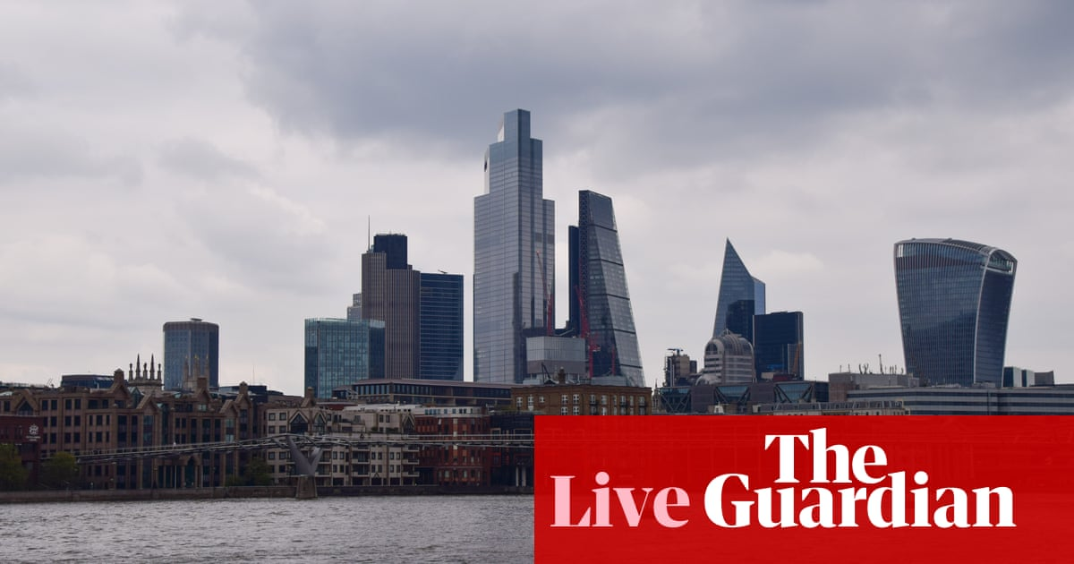 UK borrowing falls in April, to £31.7bn, as Covid-19 costs remain high – business live