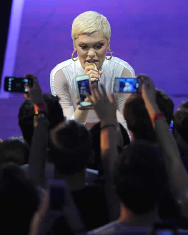 Jessie J in concert in 2013