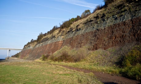 Country diary: dinosaur poo on the banks of the Severn