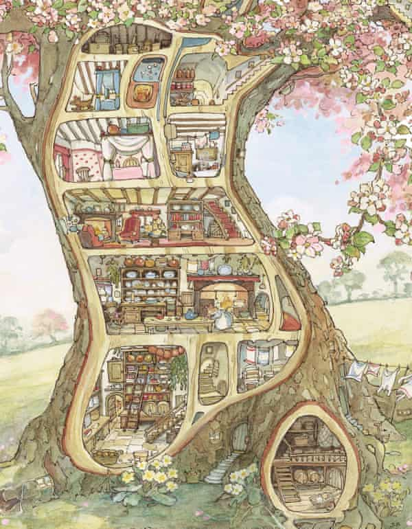 Crabapple Cottage is the home of Mr and Mrs Apple.