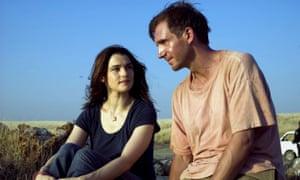 Rachel Weisz and Ralph Fiennes in the 2005 film adaptation of The Constant Gardener.