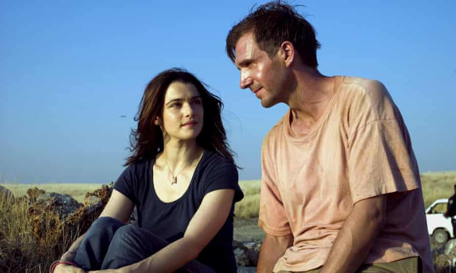 Rachel Weisz and Ralph Fiennes in the 2005 film adaptation of The Constant Gardener.