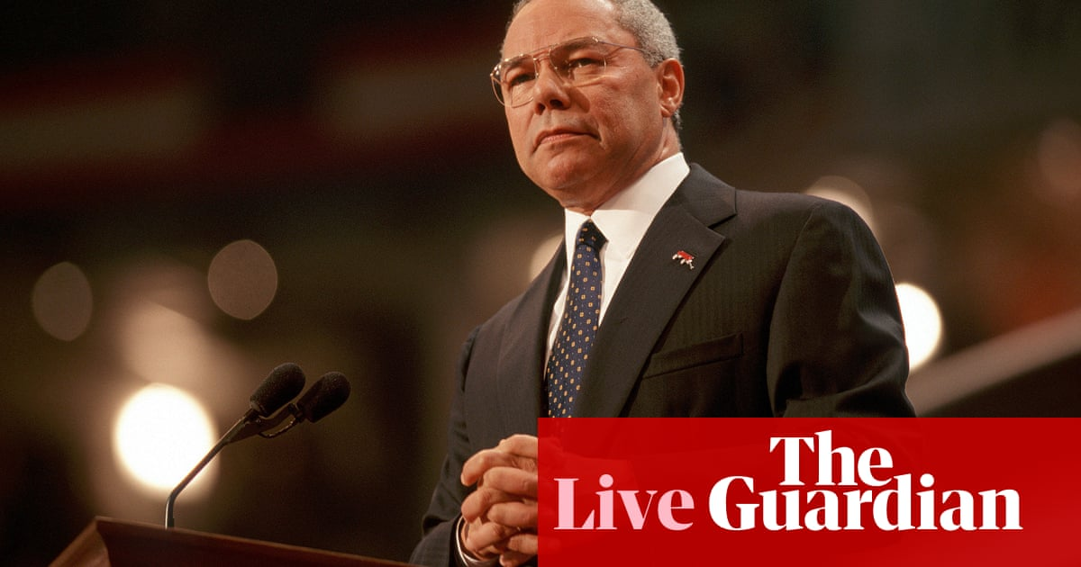 Washington mourns death of 'trailblazer' Colin Powell as tributes pour in – live