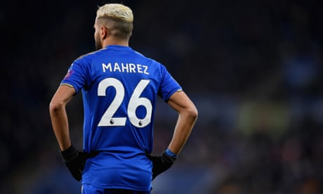 Riyad Mahrez will not play for Leicester against Manchester City