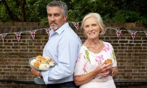 Paul Hollywood and Mary Berry, The Great British Bake-off
