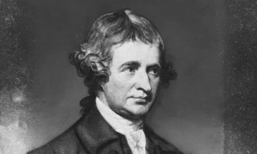 Edmund Burke circa 1780.