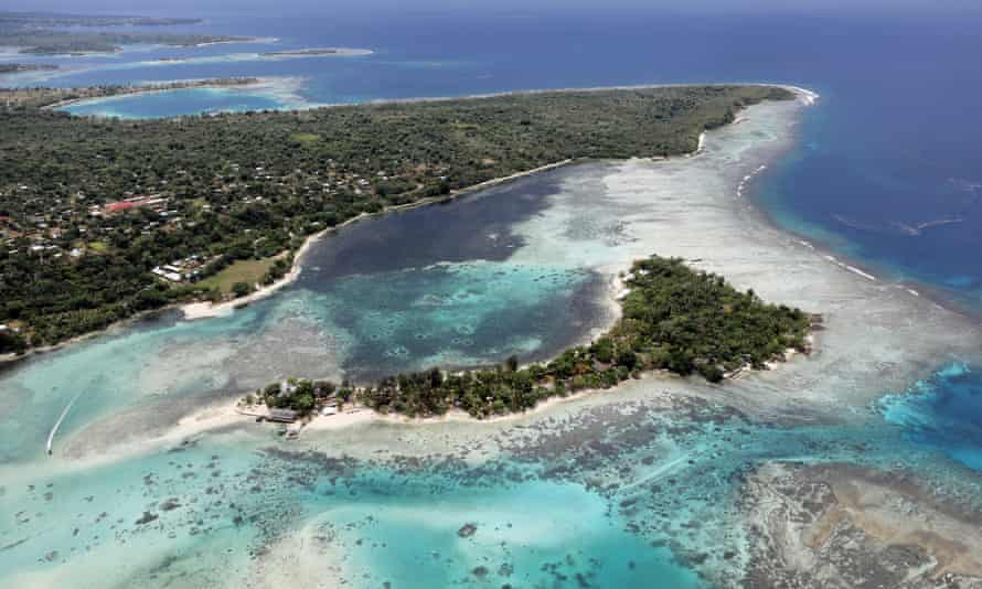 Port Vila, the capital of Vanuatu.