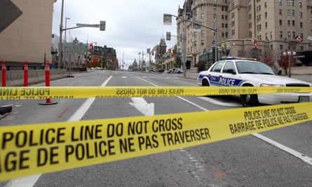 The Royal Canadian Mounted Police said a man had been arrested after an incident.