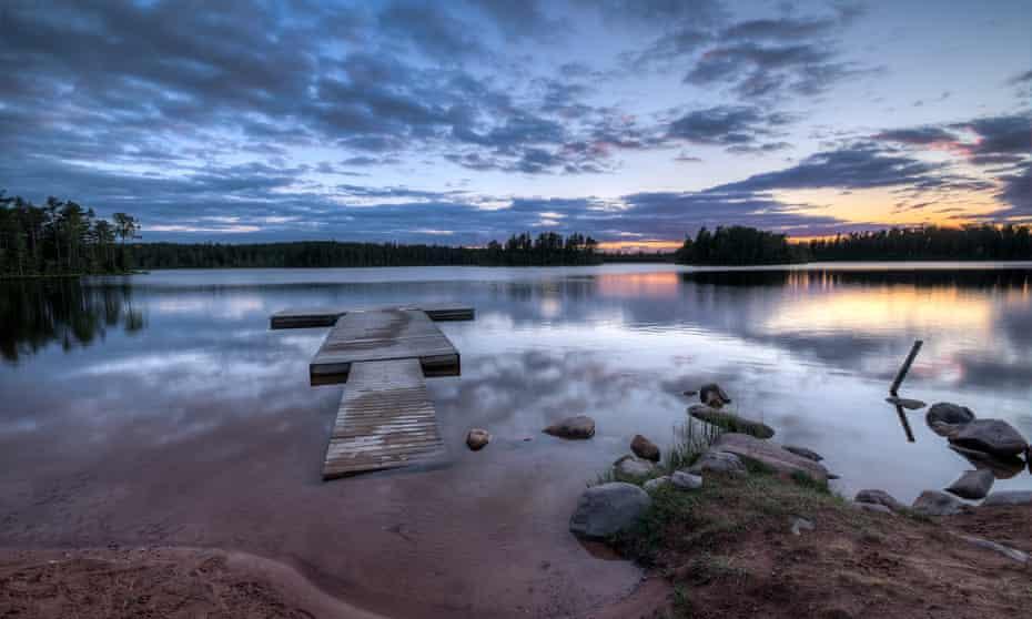 A lake in the southern Swedish county of Dalarna