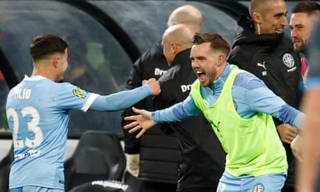 Melbourne City win maiden A-League championship with grand final defeat of Sydney FC
