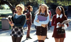 Brittany Murphy, Alicia Silverstone & Stacey Dash in Clueless.
