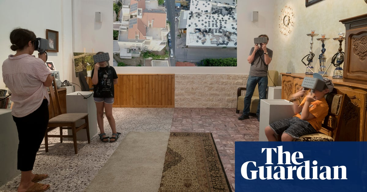 Israelis experience Palestinian homeland in virtual reality | World on google home design, white home design, wood house exterior design, secure home design, virtual advertising, interactive home design, medical home design, classroom home design, security home design, computer home design, 3d home design, international home design, friends home design, visual home design, design home design, online home design, global home design, group home design, digital home design, search home design,