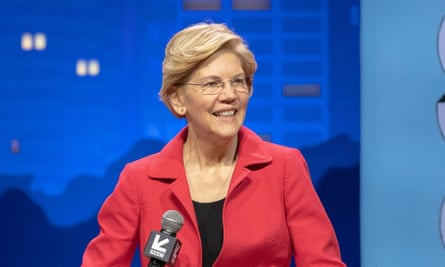 Elizabeth Warren tweeted: 'I want a social media marketplace that isn't dominated by a single censor.'