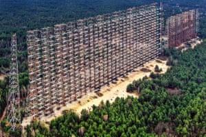 Duga - a Soviet early-warning radar system at Chernobyl