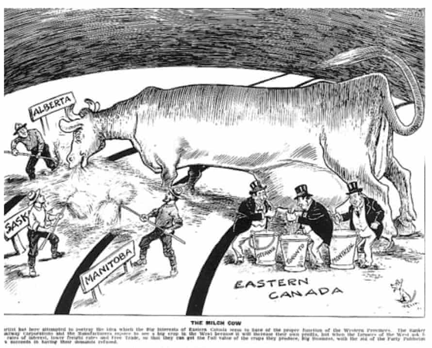1915 Cartoon from the Grain Growers Guide