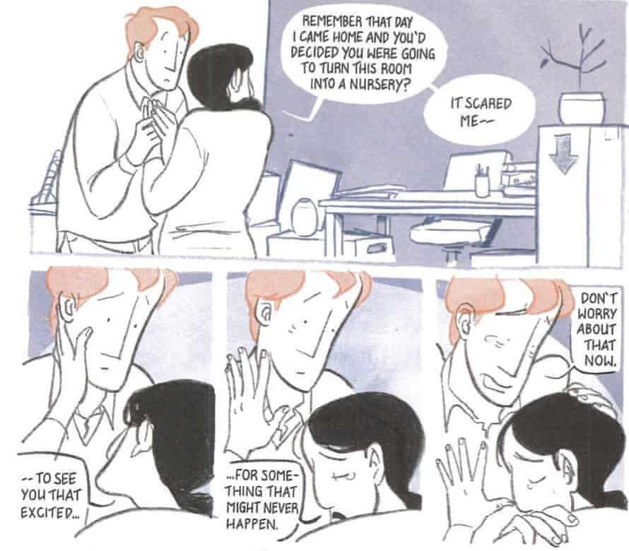 A page from Two Week Wait by Luke and Kelly Jackson, illustrated by Mara Wild