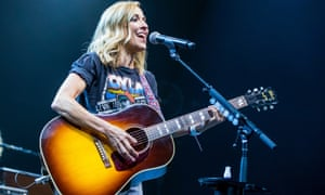 Sheryl Crow performs during the Outlaw Festival at Joe Louis Arena in Detroit, in July.