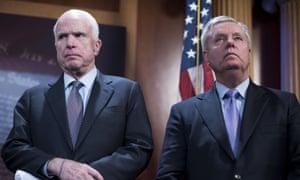 Senators John McCain and Lindsey Graham.