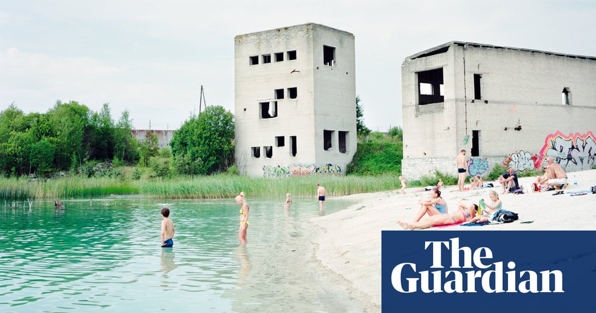 Sun-seekers at an abandoned forced labour camp: Rafał Milach's best photograph