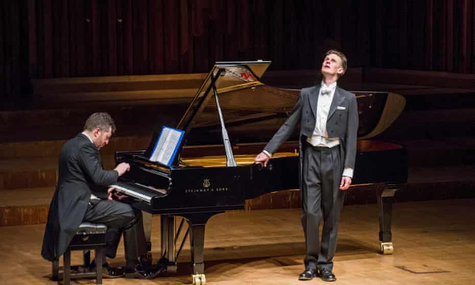 Thomas Adès accompanies Ian Bostridge singing Schubert's Winterreise.