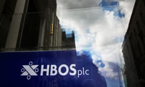 Six people, including two former HBOS bankers, have been found guilty of bribery and fraud.