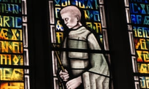 The Caedmon window at St Hilda's, Sneaton