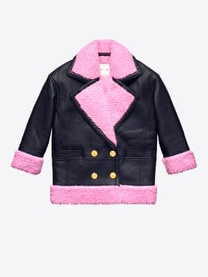 Faux leather jacket, £199.99