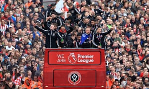 Sheffield United finished second in the Championship this season to earn automatic promotion to the Premier League.