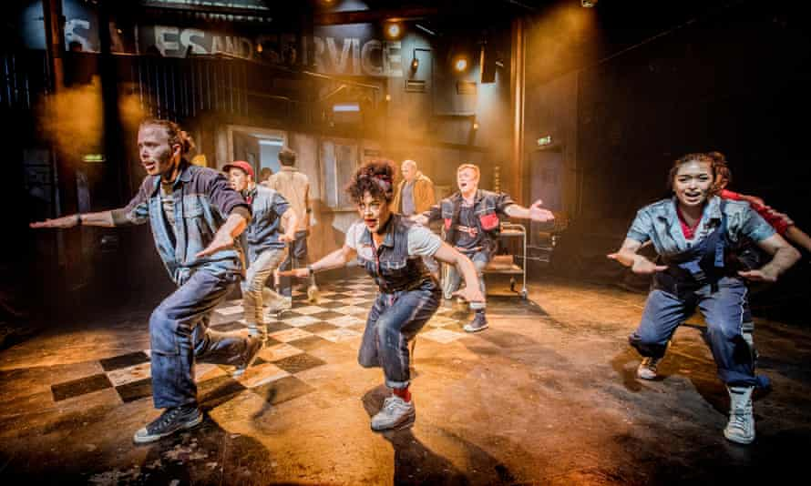 Dirty dancing … the Southwark Playhouse updated musical version of Working.