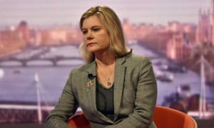 The education secretary, Justine Greening, on the Andrew Marr Show.