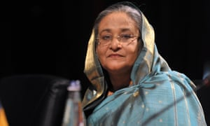 Bangladesh prime minister, Sheikh Hasina Wazed, says she is striving to meet her people's basic needs in a country with an economy growing at 6%.