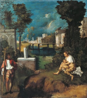 The Storm by Giorgione (1505-6)