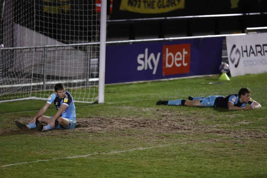 After that 5-4 loss at Harrogate.