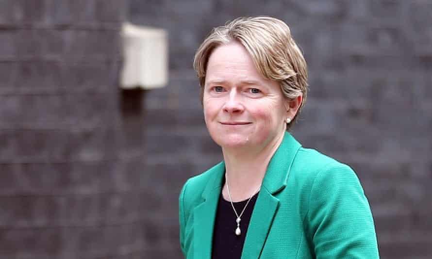 Dido Harding at Downing Street