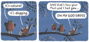 The dawn chorus – cartoon