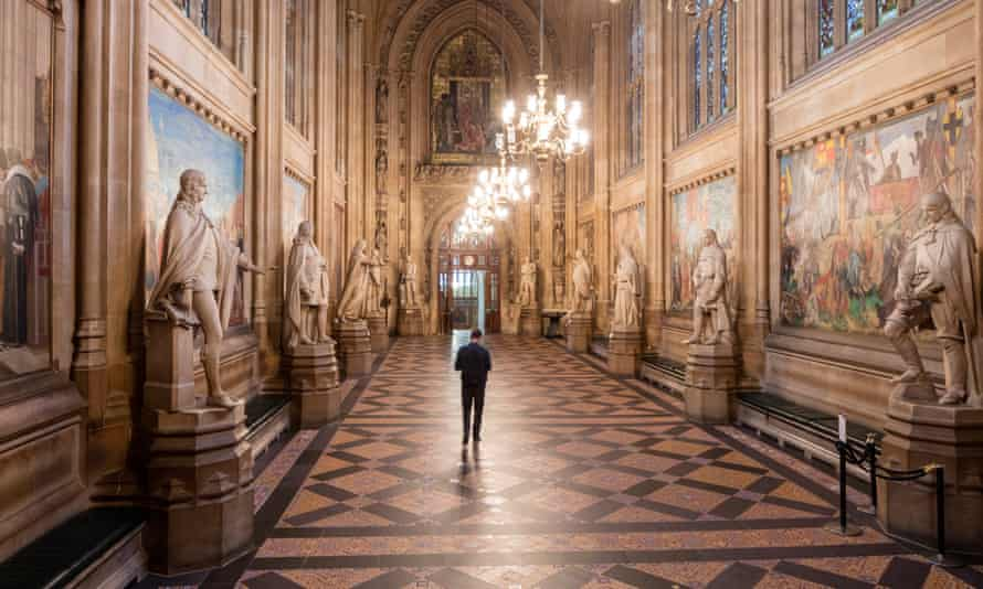The Houses of Parliament are full of historical art.