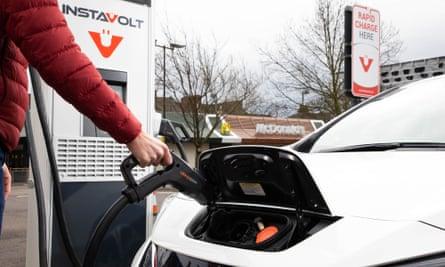 InstaVolt rapid charging network