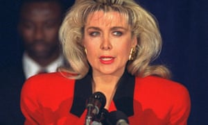 Gennifer Flowers 'will attend debate' as Trump aims low blow at Clinton