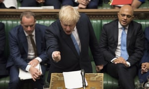 Boris Johnson demanded the EU drops the backstop policy before any new talks commence.