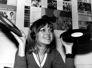 'A really sad day' … Annie Nightingale in 1970.