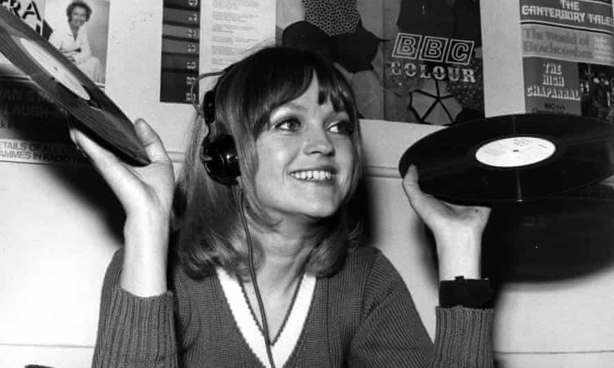 Annie Nightingale in 1970