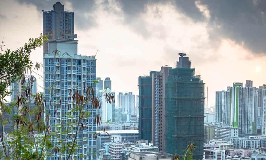 The novel is set in Hong Kong, where the narrator teaches English.