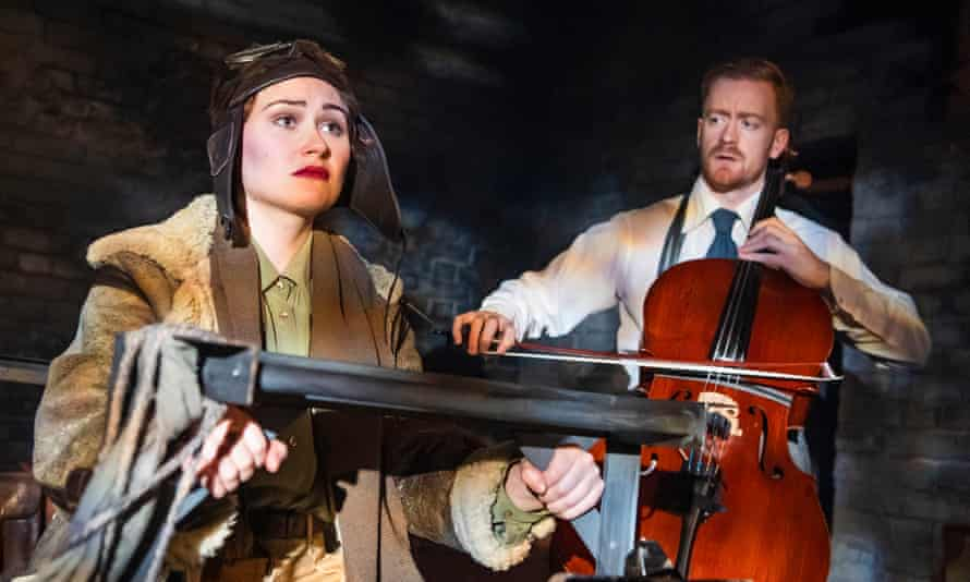 Poetic tale … Hannah Edwards and Benedict Salter in Lone Flyer.