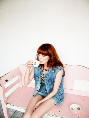 Florence Welch, London, 2011.