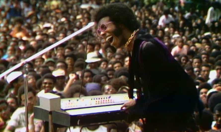 Sly Stone in Summer of Soul.