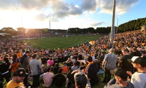 NRL Rugby League Round 16 - Wests Tigers v Penrith Panthers at Leichhardt Oval, 28 June June 2015.